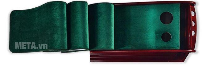 Thảm tập golf putting PGM TL-003 có bề mặt thảm màu xanh
