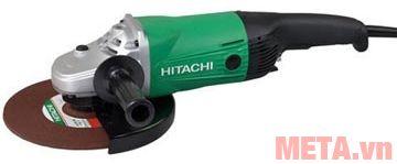 Máy mài góc Hitachi G23SW có vành chắn bảo vệ đá mài