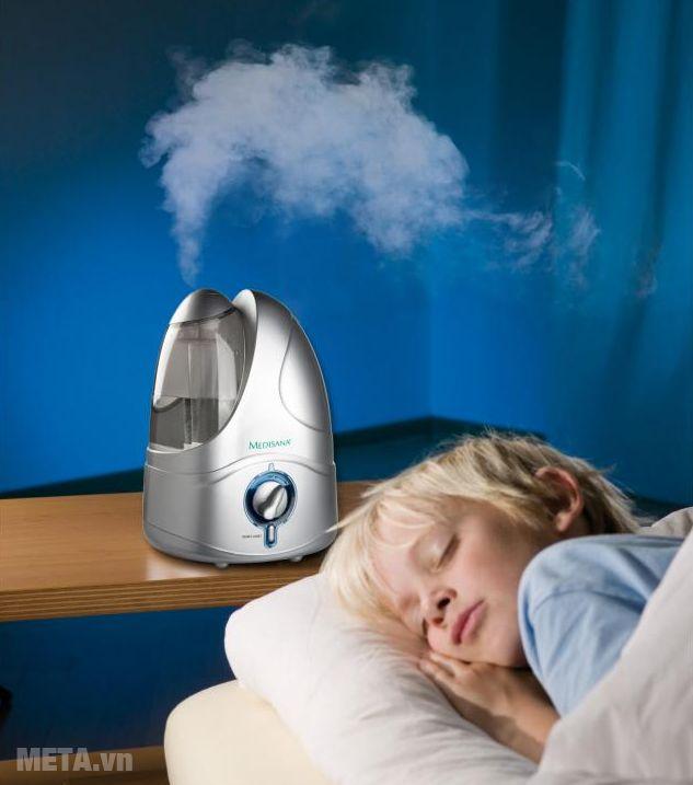 Máy tạo độ ẩm Medisana UHW giúp bảo vệ sức khỏe cho bé yêu