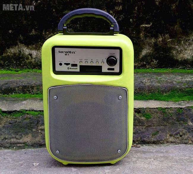 Loa SoundMax M-1 có kết nối Bluetooth