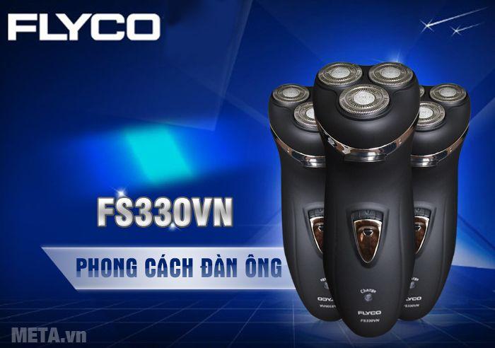 Máy cạo râu Flyco FS-330VN giúp nam giới
