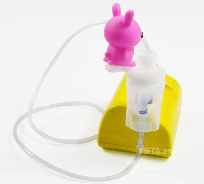 Máy xông mũi họng nén khí NE-C801KD nhỏ gọn, dễ bảo quản và mang theo