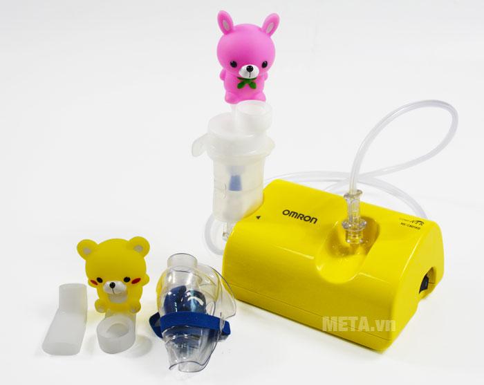 Máy xông mũi họng nén khí NE-C801KD dùng cho trẻ sơ sinh và trẻ nhỏ