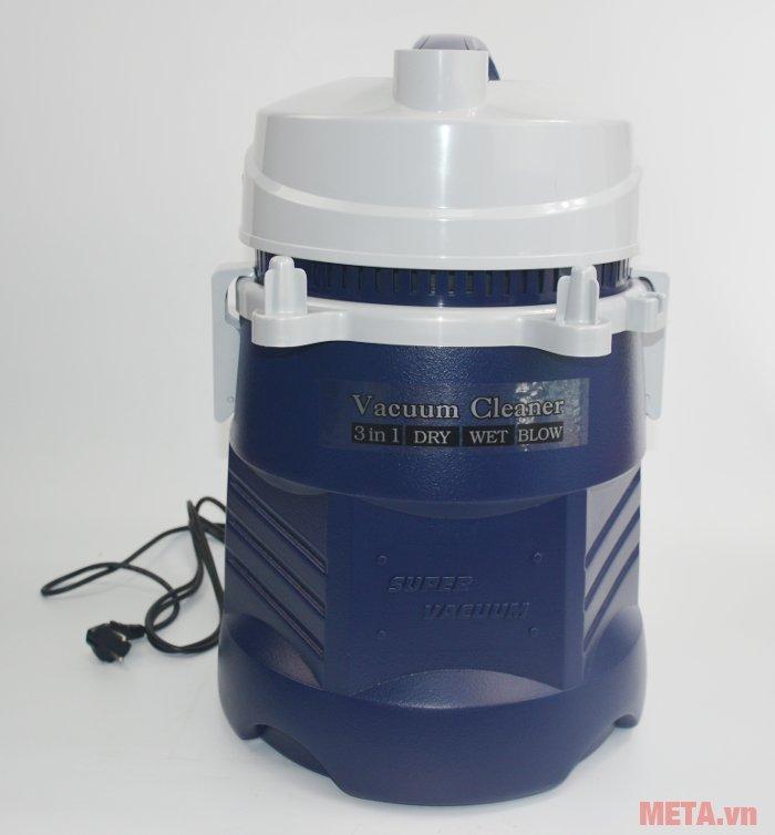 Máy hút bụi công nghiệp Tiross TS9301 tích hợp 3 tính năng: hút khô, hút nước, thổi gió